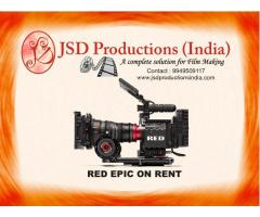 RED Epic and RED Scarlet on Rent - Cinema Camera on Rent