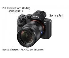 Sony A7s II on Rent - Sony Alpha 7s II On Rent - Sony A7S2 With Lenses