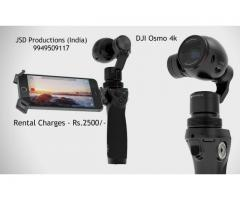 DJI Osmo 4K on Rent - Osmo on Rent - Camera Rentals