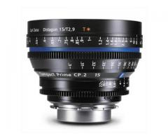 CP2 Lens (Carl zeiss lens) with EF Mount for rental in Hyderabad
