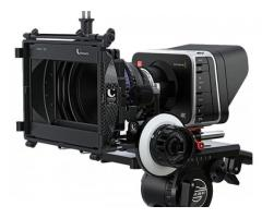 Black magic 4K production camera for rental in Hyderabad Telangana