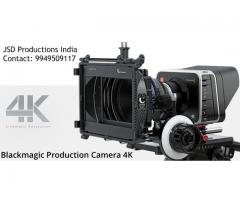 Blackmagic Design Production Camera 4K on Rent in Hyderabad