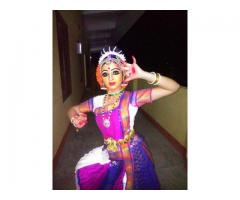Women Classical dance Costume And Accessories for Rent in Hyderabad