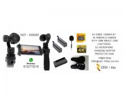 DJI OSMO 4K CAMERA RENTAL@ INR2500 PER DAY