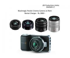 Blackmagic Pocket CInema Camera on Rent - Cinema Camera with Lenses on Rent