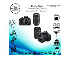 Weekend Vibes - Rent a Dslr at Rs.300/- only - Camera Dslr on Rent