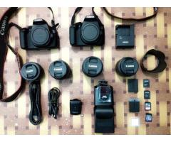 Camera and camera equipment