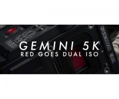 RED Gemini 5K Dual ISO With CP3 Package