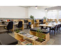 Affordable and fully furnished co-working space for rent