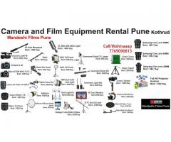 Film equipment rental pune