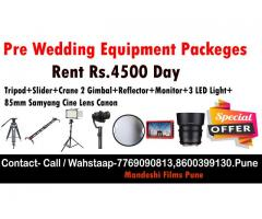 pre wedding equipment rental pune pre wedding camera rental punepre wedding equipment rental pune