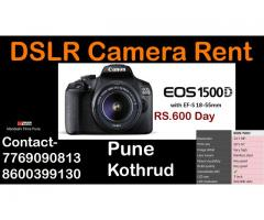 dslr camera on rent pune