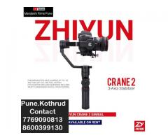 Crane 2 Gimbal on Rent Pune Contact