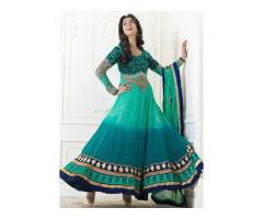 Anarkali dress for rent
