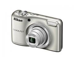 Nikon Coolpix L31 16.1MP Digital Camera (Silver) for rent in jaipur