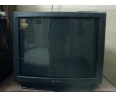 "21""CRT TVs available for ready use"