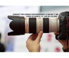 candid photography - candid videography