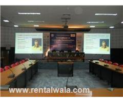 Projector, plasma, led wall, pa system on rent in mohali, zirakpur, chandigarh, panchkula